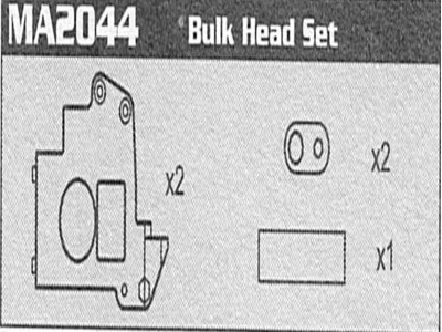 MA2044 Bulk Head Set Raptor