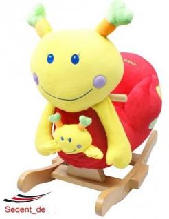 BABY SCHAUKELPFERD *EMILY* mit MUSIK & SITZ SUPERSÜßES mit Baby