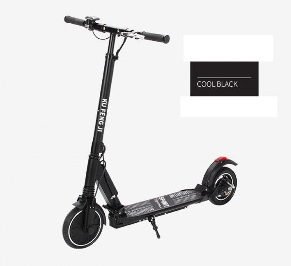 E-Scooter bis zu 30 km/h schnell - mit 24km Reichweite - 36V Akku