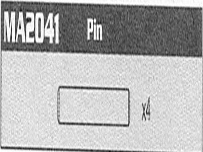 MA2041 Pin Raptor