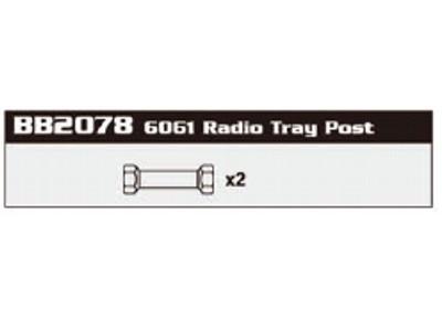 BB2078 6061 Radio Tray Post
