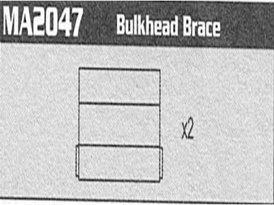 MA2047 Bulkhead Brace Raptor