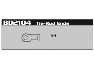 BD2104 Tie-Rod Ends