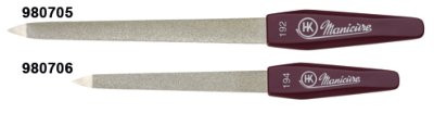 Saphir-Nagelfeile 13cm spitz,