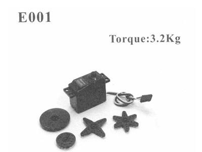 E001 Servo LS-3003 3, 2 kg/cm