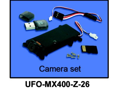 UFO-MX400-Z-26 Kamera Set (mit MicroSD Karte)