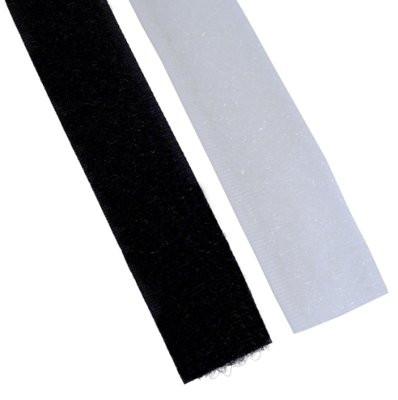 Flauschband 20mmx25m schwarz
