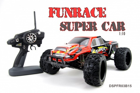 RC AUTO FUNRACE 1:10 Red