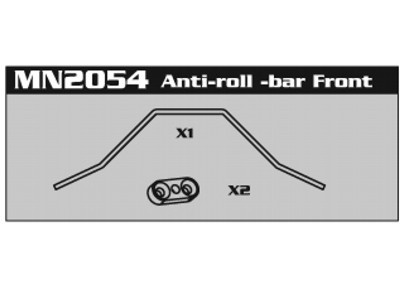 MN2054 Anti-Roll-Bar Front