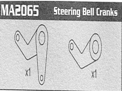 MA2065 Steering Bell Cranks Raptor