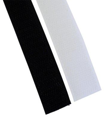 Klettband 25mmx25m schwarz