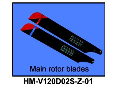 HM-V120D02S-Z-01 Hauptrotorblätter
