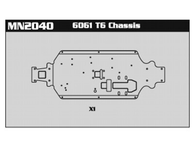 MN2040 6061 T6 Chassis