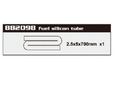 BB2098 Fuel Silicon Tubing