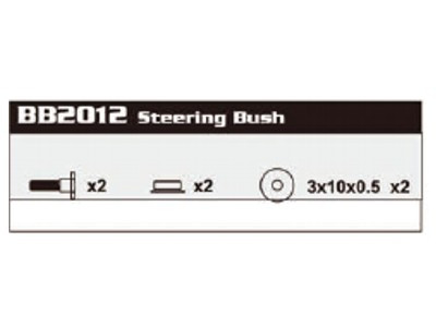 BB2012 Steering Bush