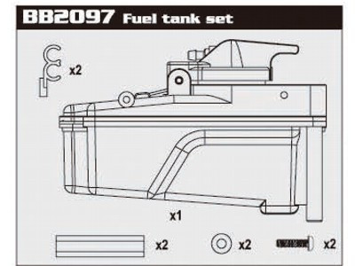 BB2097 Fuel Tank Set