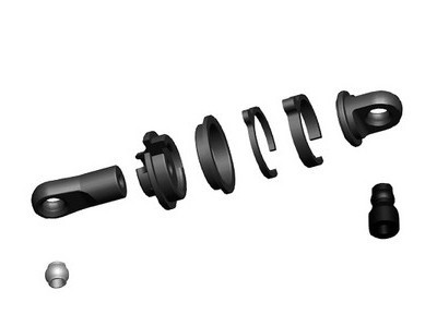 057513 Shock Rod End Set